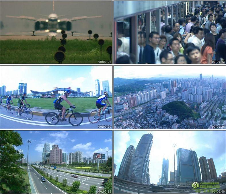 YC0191-交通运输货车轮船物流飞机地铁公路汽车/中国高清实拍视频素材下载
