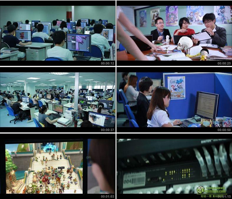 YC0212-游戏设计制作创意建模鼠绘板画原画公司/中国高清实拍视频素材下载