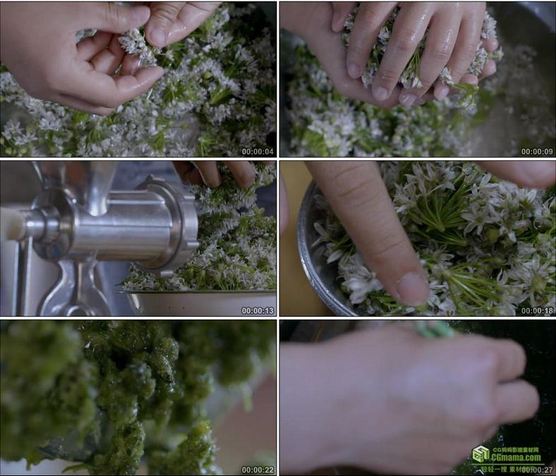 YC0817-传统酒花酱的制作酿酒工艺酒花中国高清实拍视频素材下载