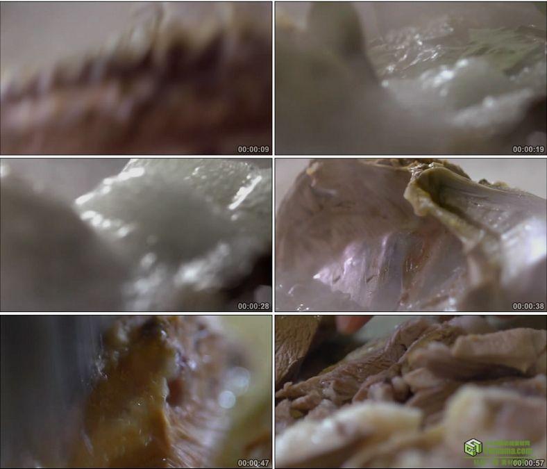 YC0864-宁夏手抓羊肉的烹煮和制作新鲜羊肉羊排中国美食高清实拍视频素材下载