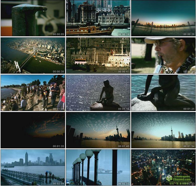 AA0003-上海海上油轮延时摄影黄浦江东方明珠宣传片中国高清实拍视频素材