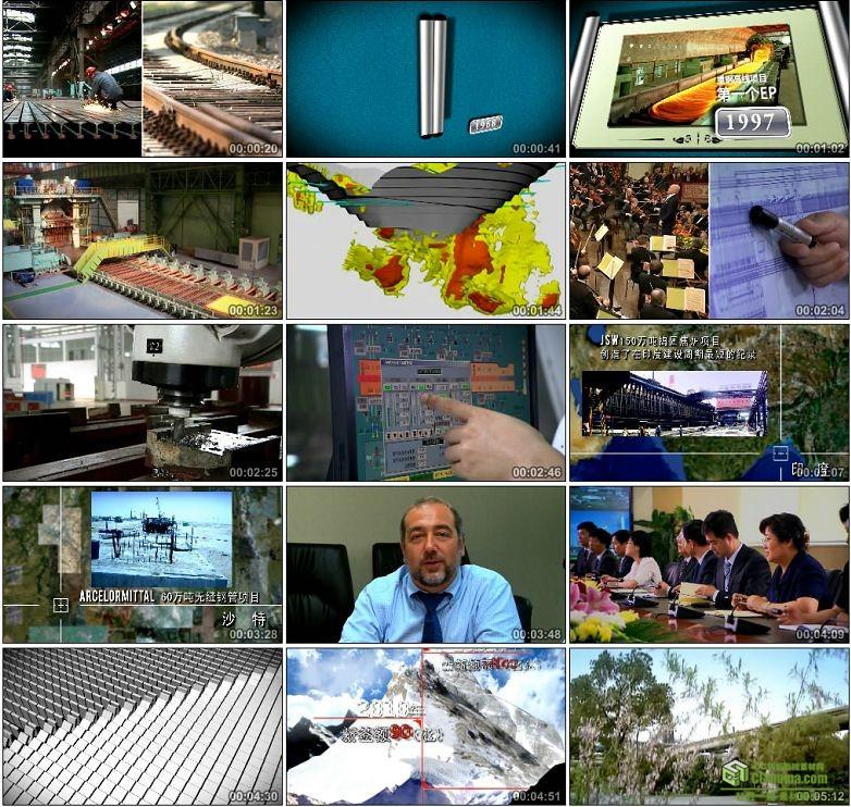 AA0058-中钢设备公司钢铁冶炼高清实拍视频宣传片下载