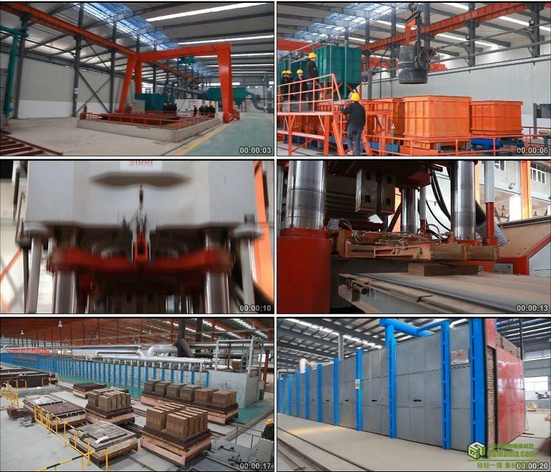 YC0949-工厂厂房工人生产工业生产高清实拍视频素材