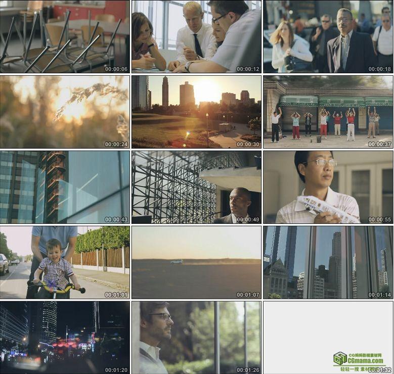 """AA0218-奥钢联""""领先一步""""的全球形象片城市建设宣传片高清实拍视频素材"""