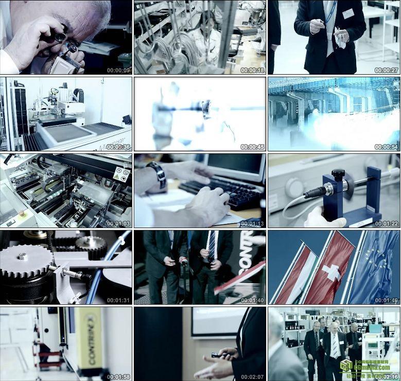 AA0241-科瑞工业电子有限公司科技宣传片高清实拍视频素材