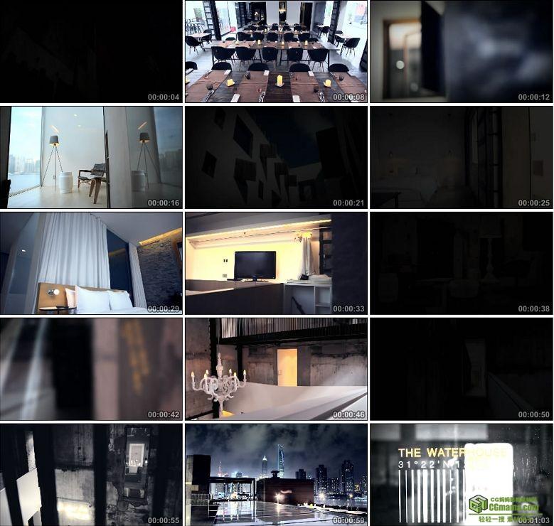 AA0243-罗兵咸会计师事务所高清实拍视频素材宣传片室内设计装饰