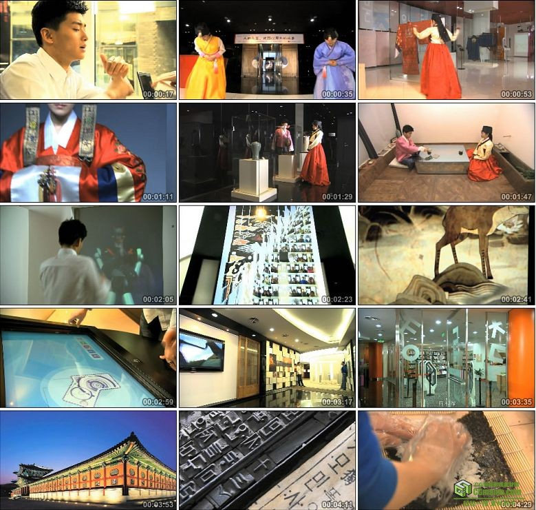 AA0286-韩国文化宣传片高清实拍视频素材下载