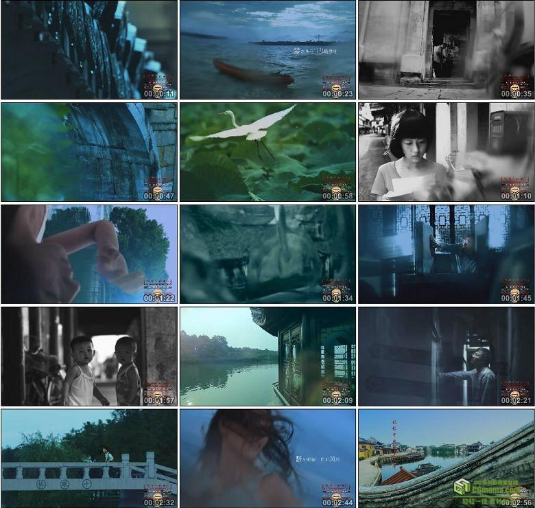 AA0287-锦溪古镇形象片高清实拍视频素材宣传片