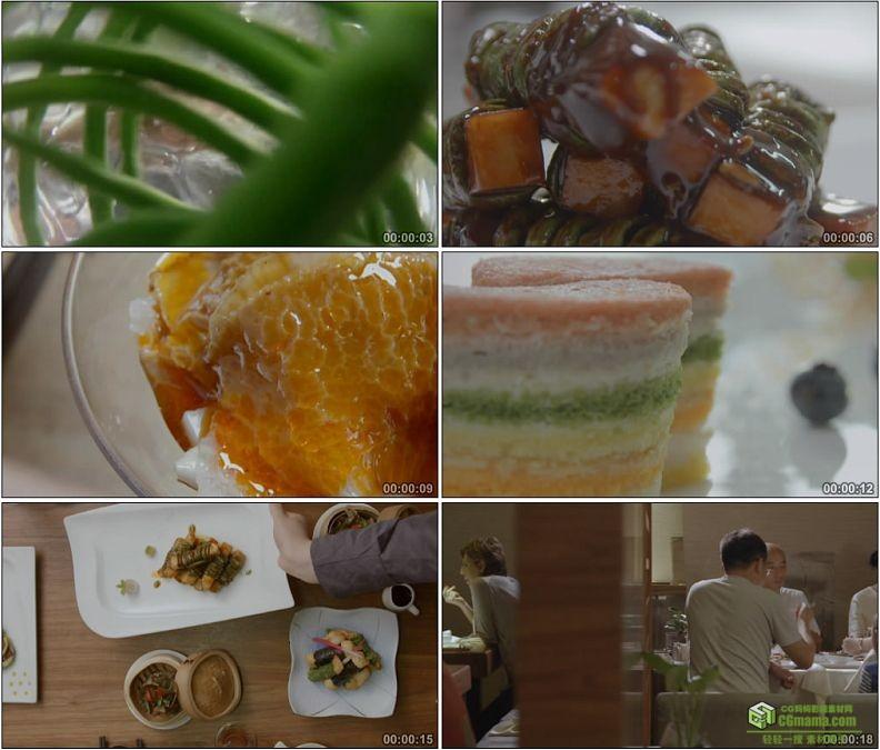 YC1188-素食素菜的制作烹饪高清实拍视频素材