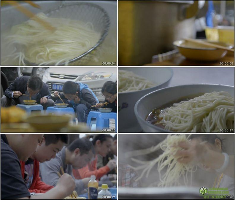YC1226-重庆小吃早餐重庆小面美食小吃高清实拍视频素材
