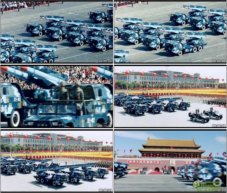 YC1263-中国人民军队红12地空导弹部队防空军事高清实拍视频素材