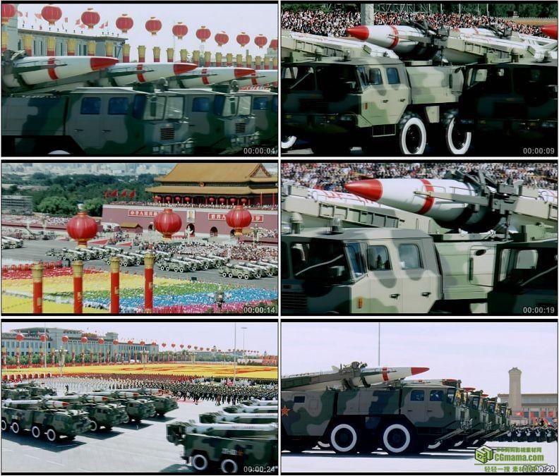 YC1271-东十一甲常规导弹部队二炮第二炮兵部队中国军队高清实拍视频素材
