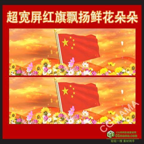 LED0256-高清国旗LED动态视频素材