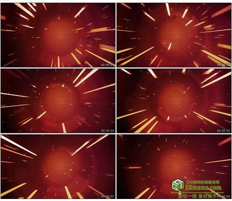 LED0571-时光穿梭金光四射LED高清视频背景素材