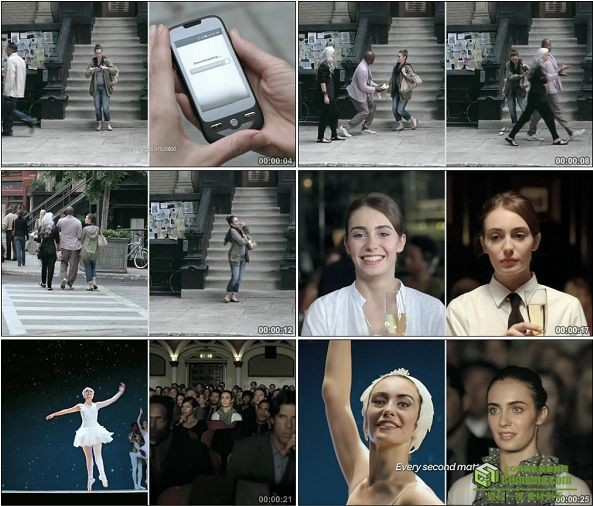 TVC00001-[720P]AT&T Commercial - Ballet机遇篇手机广告