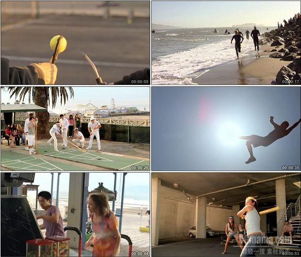 TVC00012-[720P]K-SWISS服饰高清广告HAVE AN AWESOME DAY篇体育运动