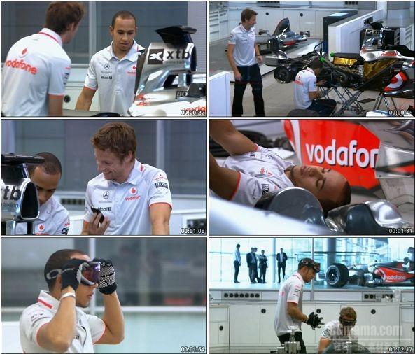 TVC00026-[720P]汉密尔顿 巴顿2人制造F1跑车Vodafone广告