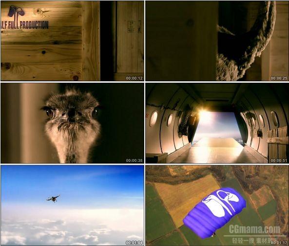 TVC00027-[720P]吉百利巧克力广告飞翔的鸵鸟篇