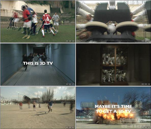 TVC00046-[1080P]Sony 3D电视广告(需要带3D眼镜看)