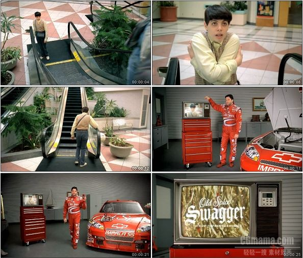 TVC00083-[720P]Tony Stewart Old Spice Swagger广告