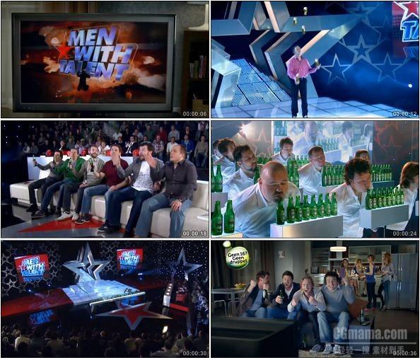 TVC00117-[720P]Heineken喜力啤酒搞笑广告达人篇