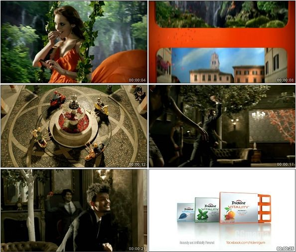 TVC00126-[720P]Trident口香糖创意广告