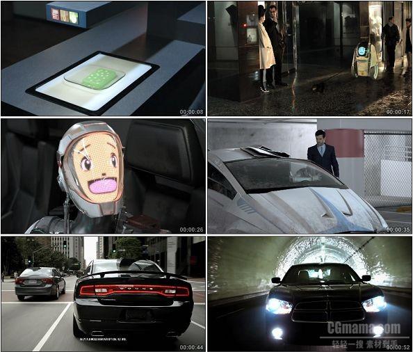 TVC00131-[1080P]2011 Dodge Charger 汽车广告未来世界篇