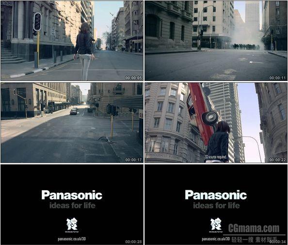 TVC00145-[1080P]Panasonic松下 VIERA 3D电视广告身临其境篇