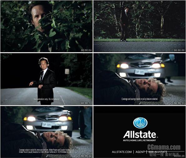 TVC00160-[720P]Allstate保险公司广告 Deer Mayhem