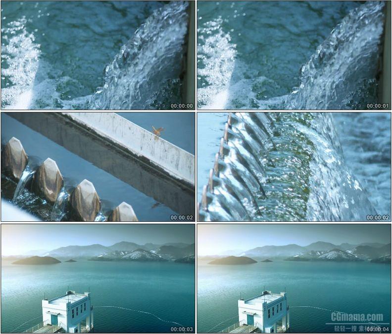 YC1641-环保纯净水源水资源和谐自然高清实拍视频素材