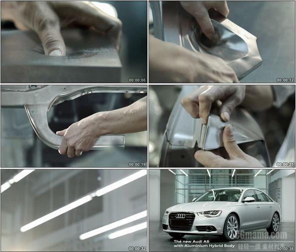 TVC00269-Audi A6 创意广告手工打造篇.720p