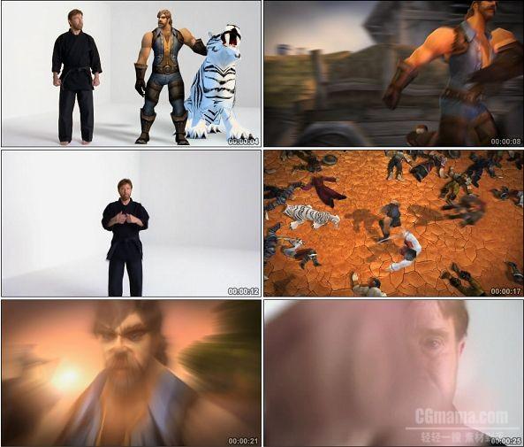 TVC00454-查克·诺里斯魔兽世界网游广告猎人篇.1080p