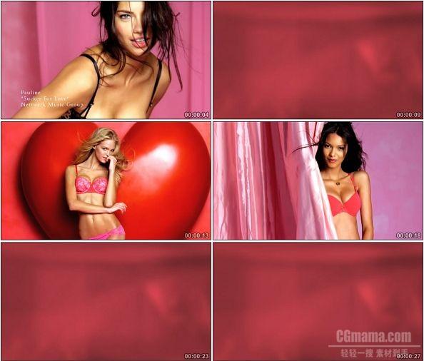 TVC00500-Victoria's Secret维多利亚的秘密广告 The Love Push-Up.720p