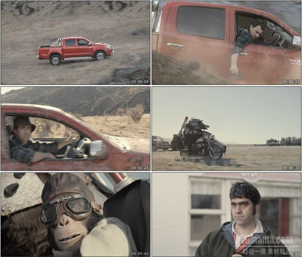 TVC00544-Toyota NZ Hilux 广告Tougher Than You Can Imagine.1080p