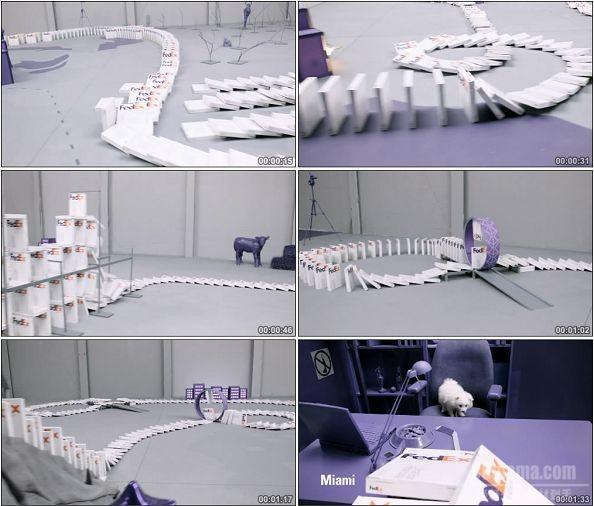 TVC00577-FedEx 快递广告多米诺篇.720p