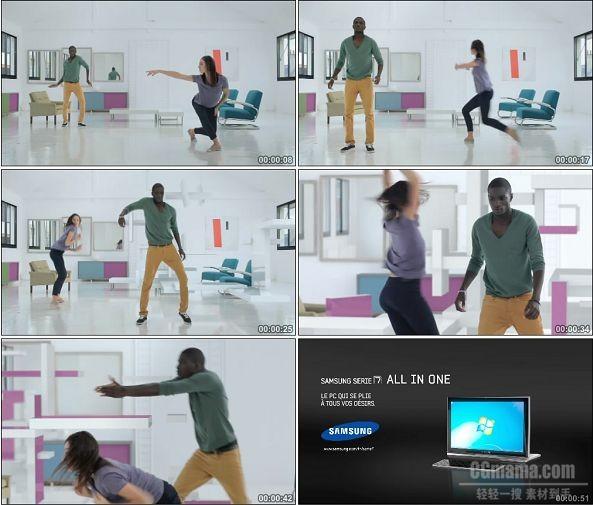 TVC00601-Samsung笔记本LIMITLESS CREATIVITY广告对舞篇.1080p