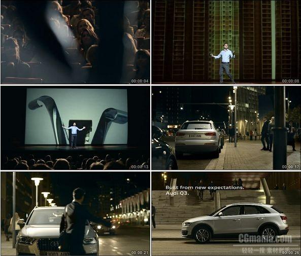 TVC00626-Audi Q3 广告梦想家篇.1080p