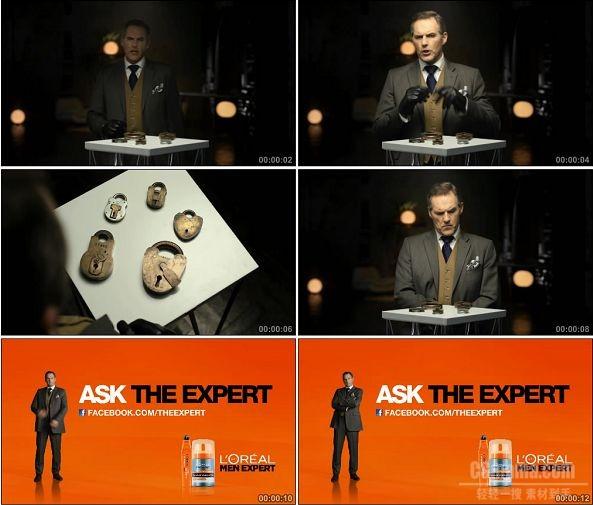 TVC00646-LOreal Men Expert 男士护肤品广告.1080p