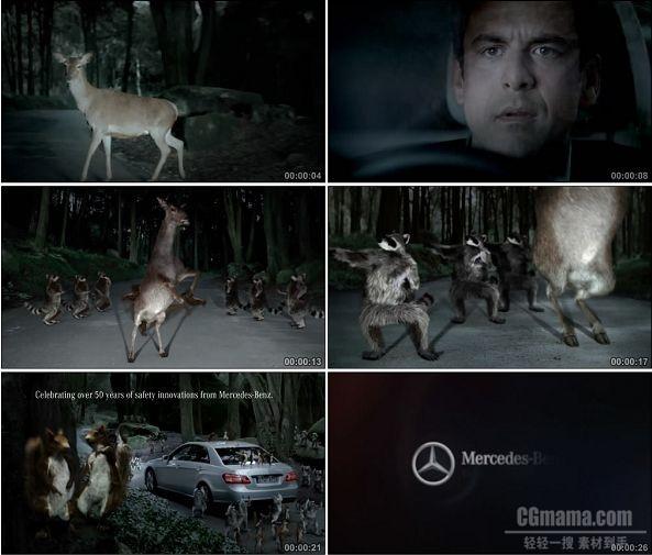 TVC00649-Mercedes-Benz奔驰广告森林篇.720p