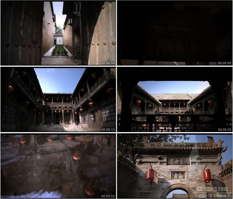 YC1709-山西省柳氏民居文化遗产高清实拍视频素材