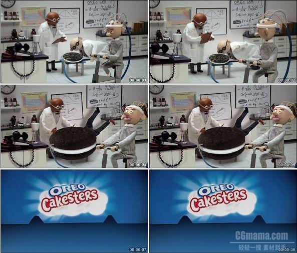 TVC00701-Oreo Cakesters 饼干广告 Scientists.720p