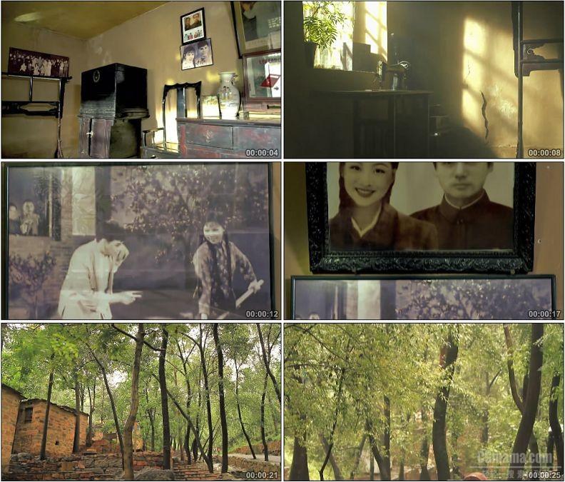 YC1744-电影朝阳沟影视拍摄基地高清实拍视频素材