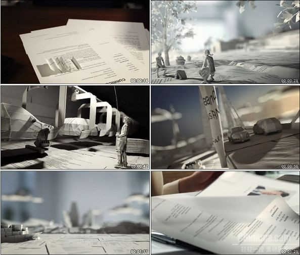 TVC00804-Skoda 斯柯达汽车广告 纸人篇.720p