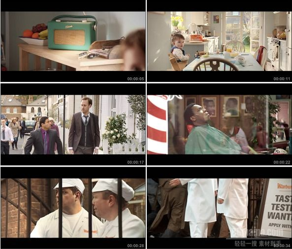 TVC00812-Warburtons 面包广告The Search for Taste Testers!.1080p