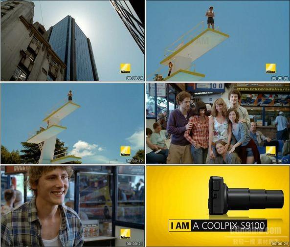 TVC00844-Nikon COOLPIX S9100 相机广告.720p
