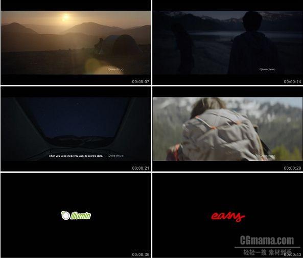 TVC00852-QUECHUA 户外用品广告.1080p