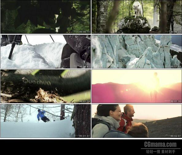 TVC00853-Quechua户外用品企业品牌广告.720p