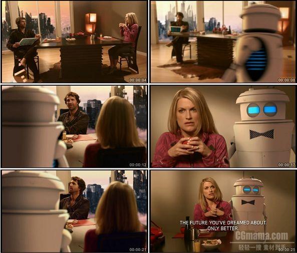 TVC00860-Verizon 4G LTE 广告 Breakfast of the Future.1080p