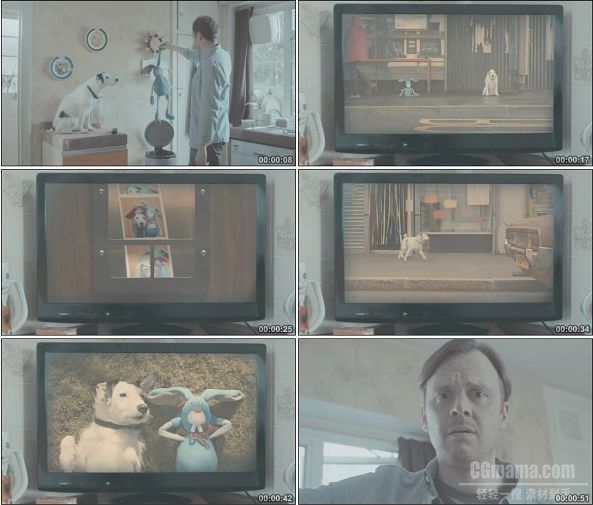 TVC00900-Thinkbox 广告 Harvey and Rabbit .1080p