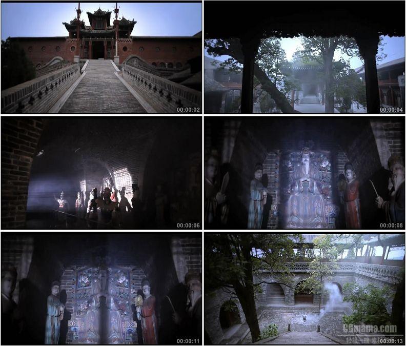 YC1821-山西东岳庙古代建筑名胜古迹高清实拍视频素材